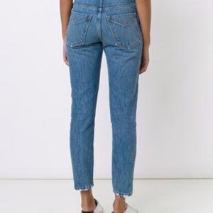 Derek Lam Jeans - Derek Lam 10 Crosby - High Rise Straight Jeans
